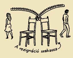 A rezignáció szakasza