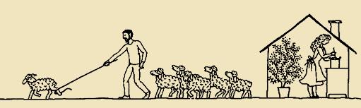 A pásztor munkája: helyes úton vezetni a bárányokat