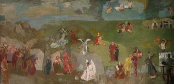 Művészettörténet, avagy történelem, freskóterv
