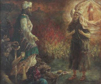Ámós Amáziás előtt