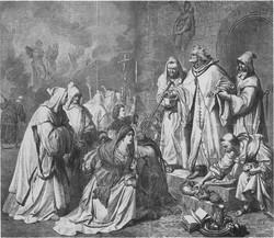 Arbuez Péter máglyára ítél egy családot