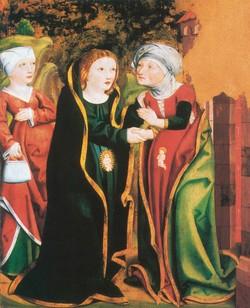 Mária látogatása Erzsébetnél