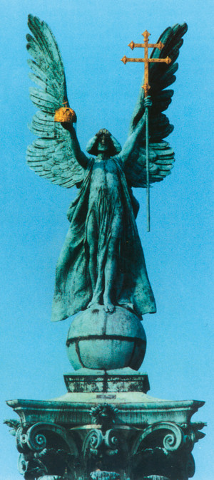 Gábriel arkangyal, Millenniumi emlékmű