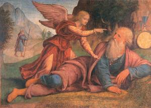 Illés és az angyal