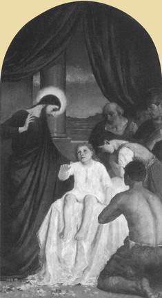 Jairus lányának feltámasztása