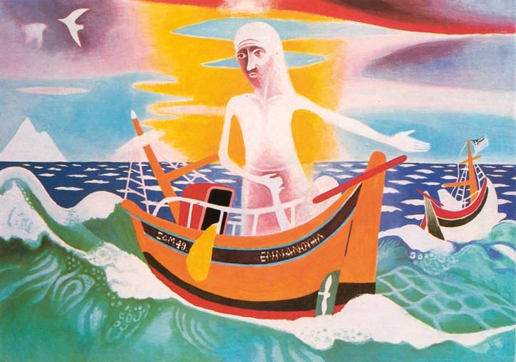 Jézus lecsendesíti a tengert