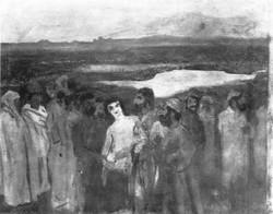 Józsefet eladják testvérei (vázlat)