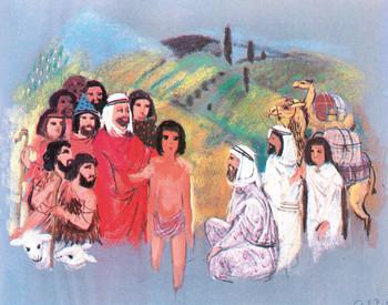 Józsefet eladják testvérei