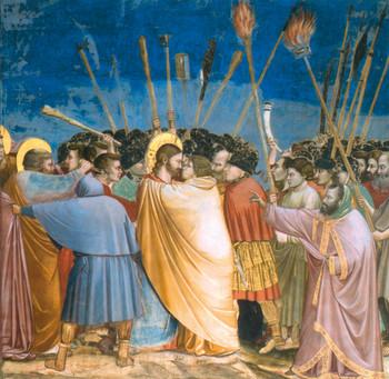 Júdás elárulja Jézust
