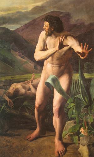 Káin megöli Ábelt