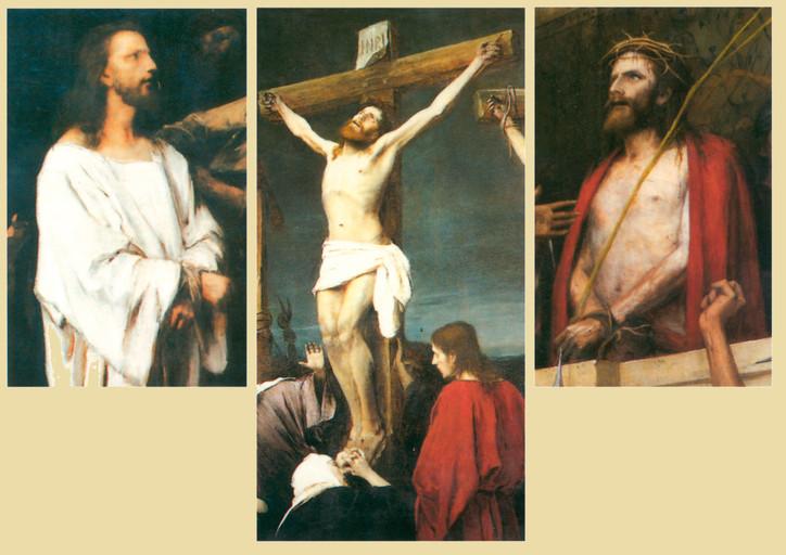 Krisztus Pilátus előtt (részletek)
