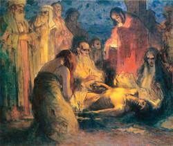 Krisztus sírba tétele