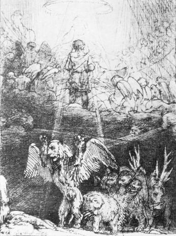 Dániel álma a négy vadállatról