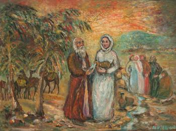 Rebeka és Eliézer találkozása