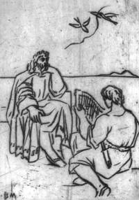 Saul és Dávid