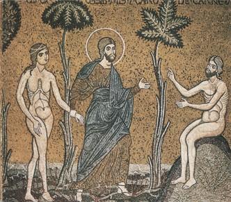 Ádám és Éva, monrealei székesegyház