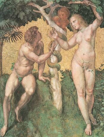 Ádám és Éva a kígyóval