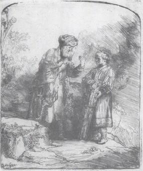 Ábrahám és Izsák