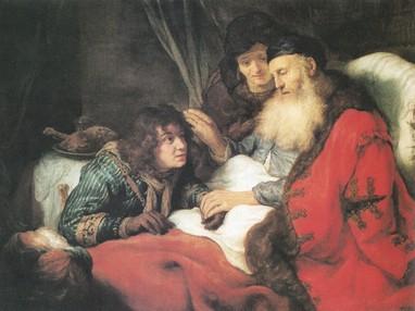 Izsák megáldja Jákóbot