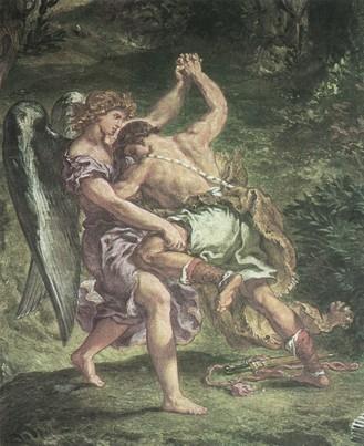 Jákób harca az angyallal