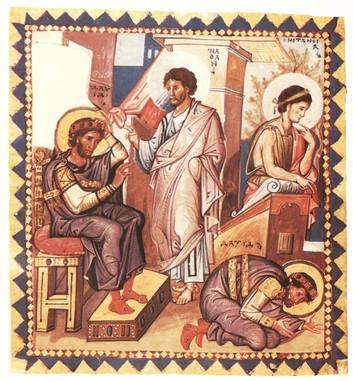 Dávid és Nátán próféta