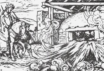 A három ifjú a tüzes kemencében