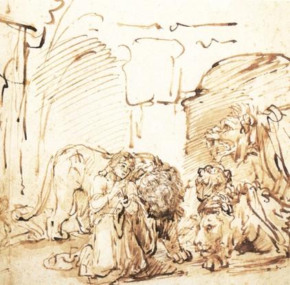 Dániel az oroszlánok között