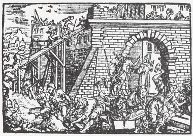 Jeruzsálem falainak építése