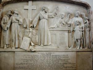 John Wyclif emlékműve