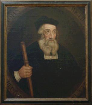 John Wyclif portréja