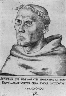 Luther szerzetesként