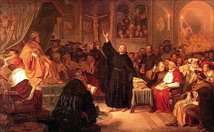 Luther védekezése