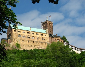 Luther Wartburg várában
