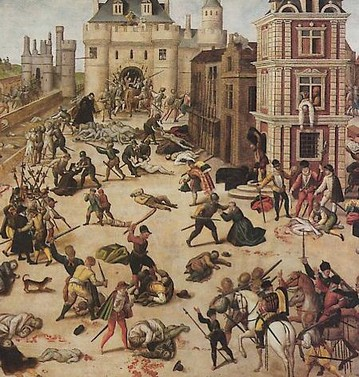 A hugenották meggyilkolása